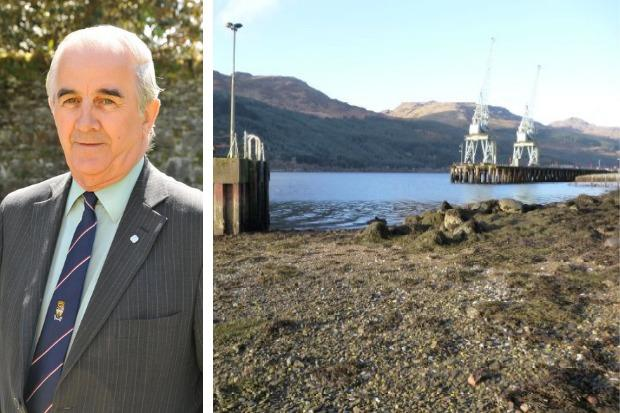 Councillor George Freeman likened the MoD's request for complete closures of the Finnart-Arrochar section of the A814 to