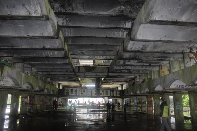 The Scottish Government has declined a request to make the former St Peter's Seminary in Cardross a 'property in care'