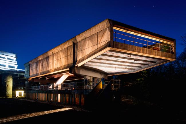 The future of the former St Peter's Seminary - venue for the spectacular Hinterland sound and light show in 2016 - lies in more doubt than ever (Photo - Colin Mearns)