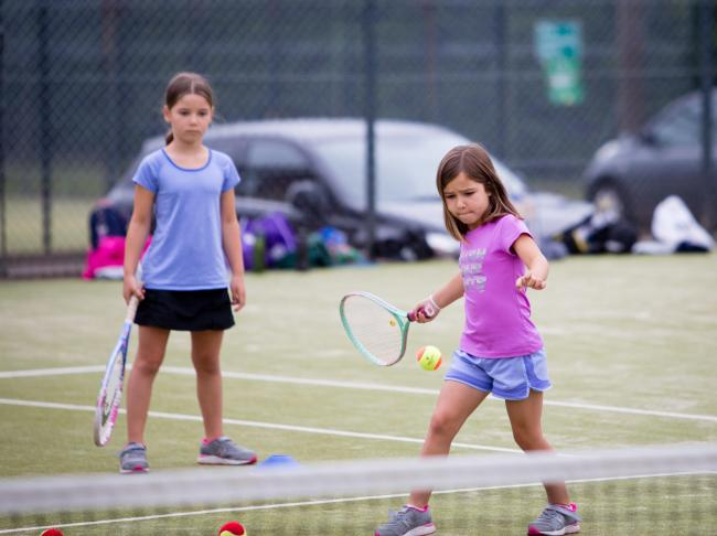 Helensburgh Tennis Club is launching a new series of classes for children, and adults, this month (Pic - Mark Shields)