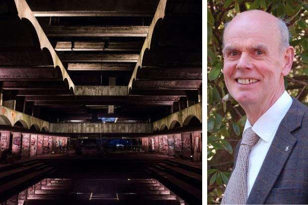 Richard Trail says the former St Peter's Seminary should not be left to decay