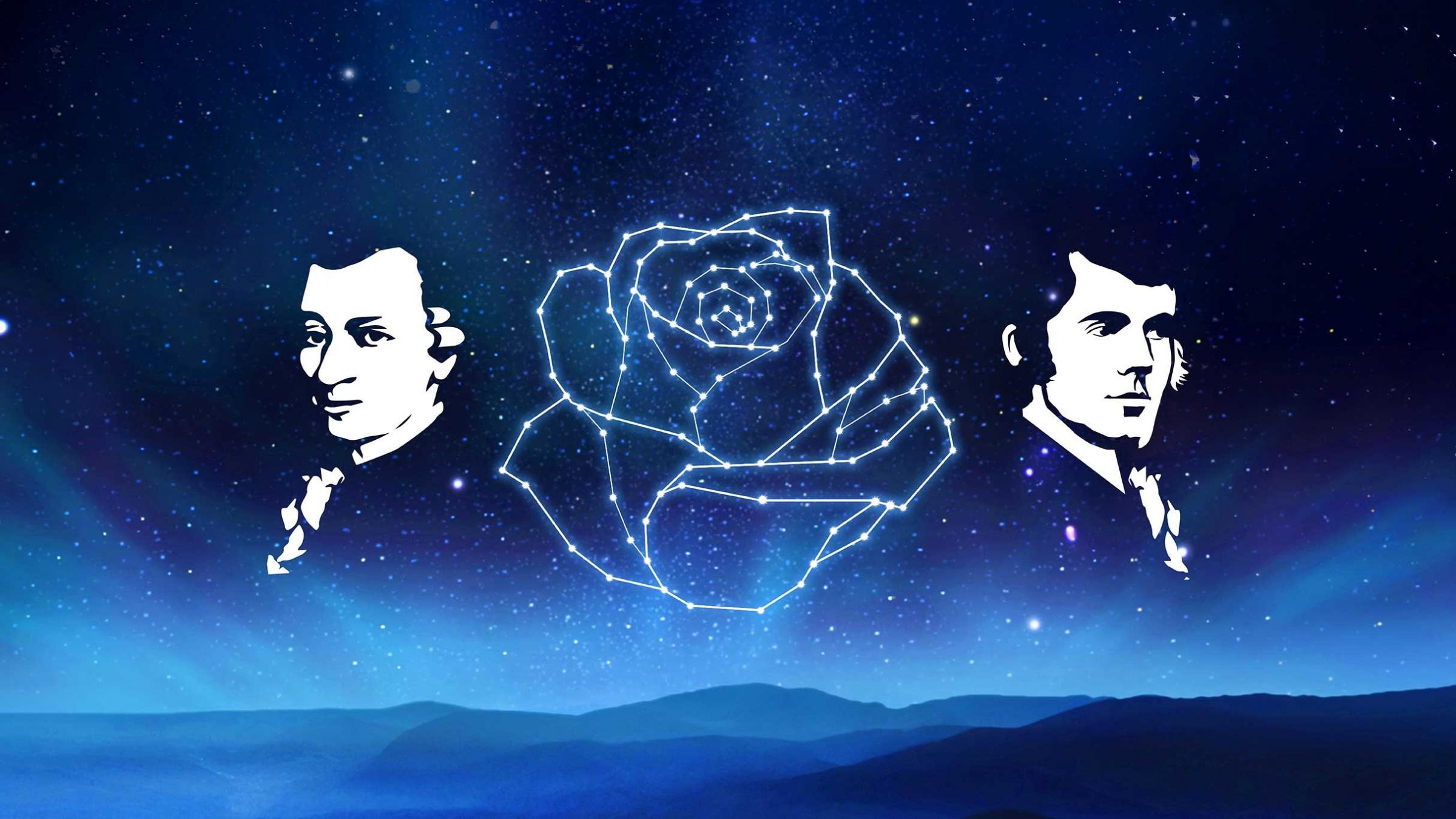 Amadeus & The Bard: 18th Century Cosmic Brothers