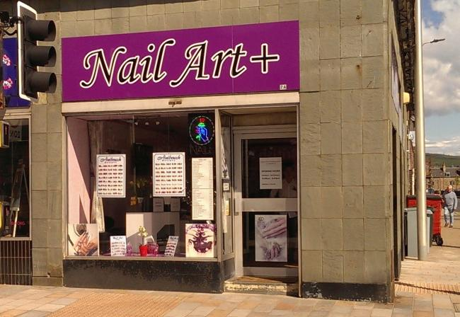 Nail Art in Sinclair Street was raided on two occasions in 2017 as part of a national operation on human trafficking
