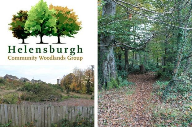 The Helensburgh Community Woodlands Group is to hold a postal ballot of residents in the west of Helensburgh on its plans to purchase the Castle Wood (right) and a site on Cumberland Avenue (bottom left) under community right-to-buy legislation