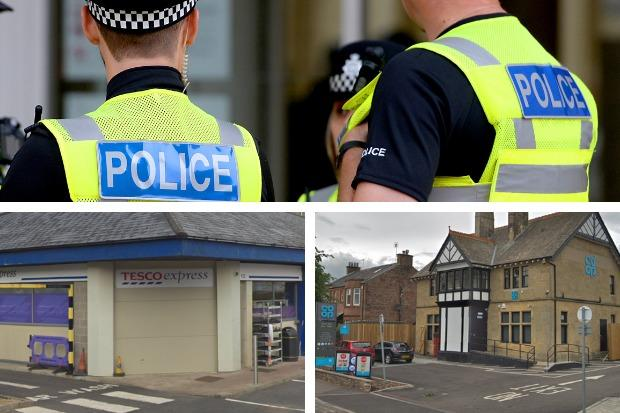 The teenager is accused of stealing alcohol from the Tesco Express store on East Clyde Street in Helensburgh and the Co-op on Main Road, Cardross