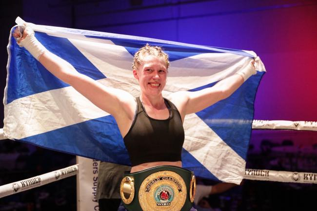 Hannah Rankin defeated American Sarah Curran in June to claim the IBO super-welterweight belt
