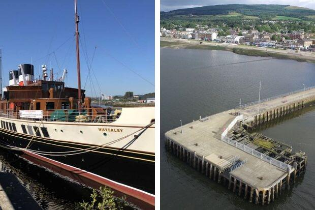 "The Waverley is unlikely to call at Helensburgh pier for the ""forseeable future"", according to the Helensburgh Seafront Development Project"