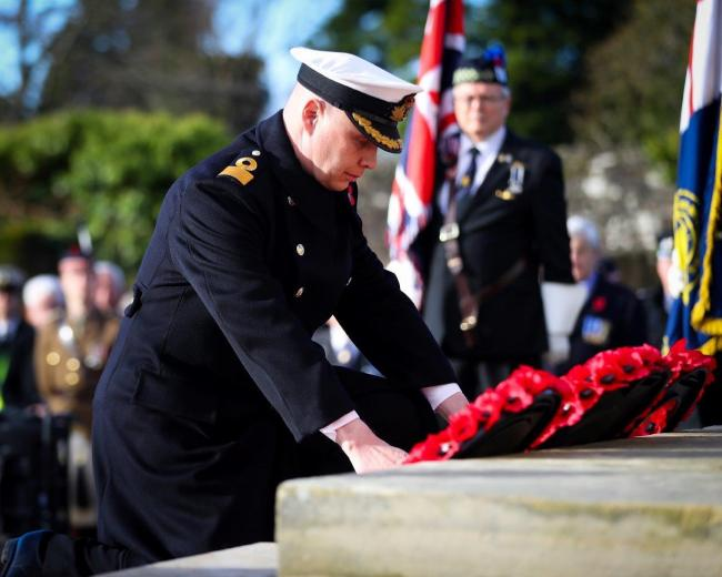 Acts of remembrance around Helensburgh and Lomond will take place on Sunday, November 10