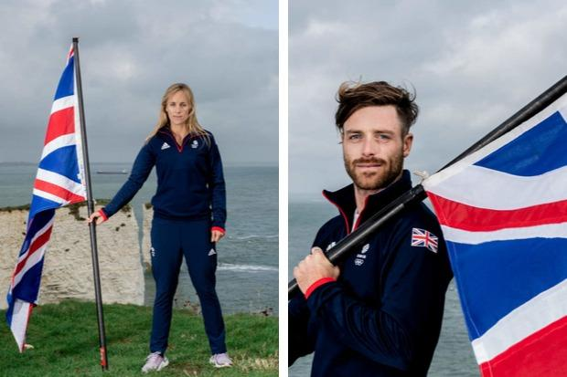 Charlotte Dobson and Luke Patience will be flying the flag for Team GB at next year's Olympic Games in Tokyo