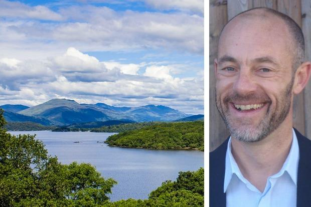Simon Jones explains how the Loch Lomond and the Trossachs National Park is helping tackle climate change