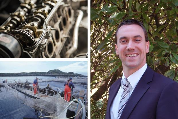 Defence engineering, whisky and aquaculture are among the priority areas for growing Argyll and Bute's economy, according to Cllr Alastair Redman