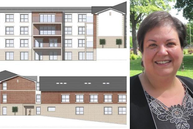 Jackie Baillie questioned whether Simply UK's plans to provide only 25 parking spaces at its new care home near the centre of Helensburgh were realistic
