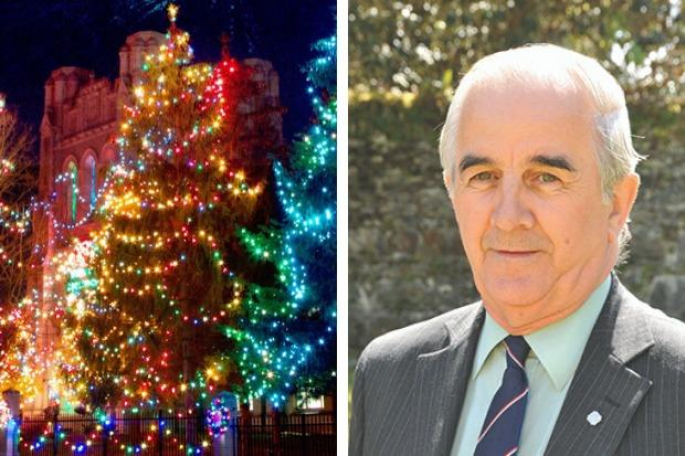 George Freeman has hit out at Argyll and Bute Council over its lack of support for festive lighting in his Lomond North ward