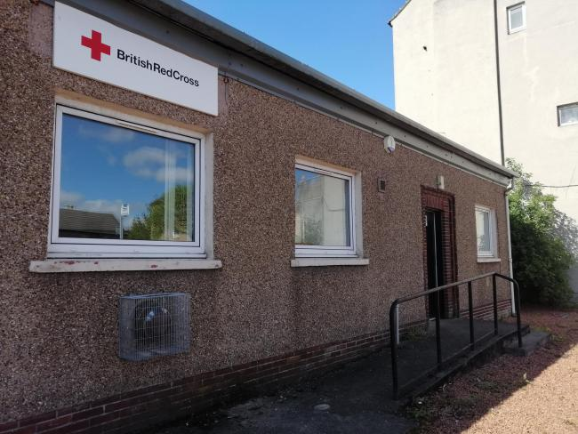 The Red Cross hall in East Princes Street