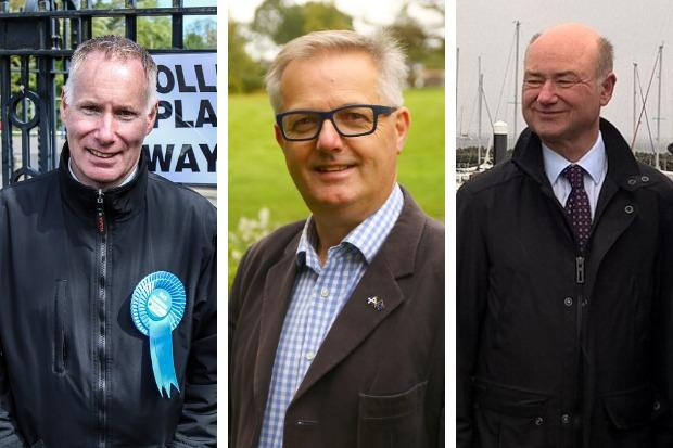 Gary Mulvaney (Conservative), Brendan O'Hara (SNP) and Alan Reid (Liberal Democrat) are the only Argyll and Bute candidates so far - though the deadline for nominations isn't until November 14