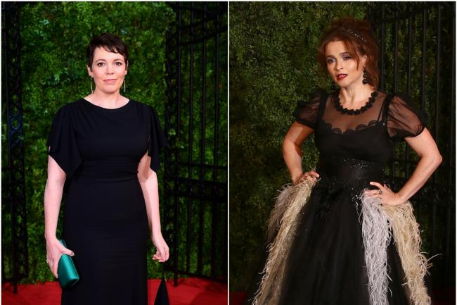 Olivia Colman and Helena Bonham Carter