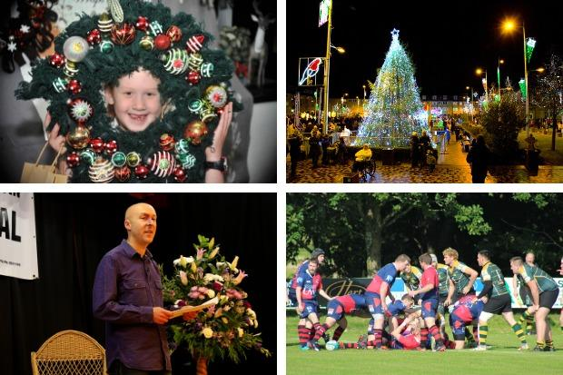 Helensburgh's Christmas lights switch-on is the centrepiece of this weekend's events calendar - but there's plenty more happening in the area too