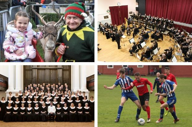 The Helensburgh Winter Festival, concerts by the Helensburgh Orchestral Society and the Glasgow Phoenix Choir, and a big cup tie for Rhu Amateurs are just some of the events happening across Helensburgh and Lomond this weekend
