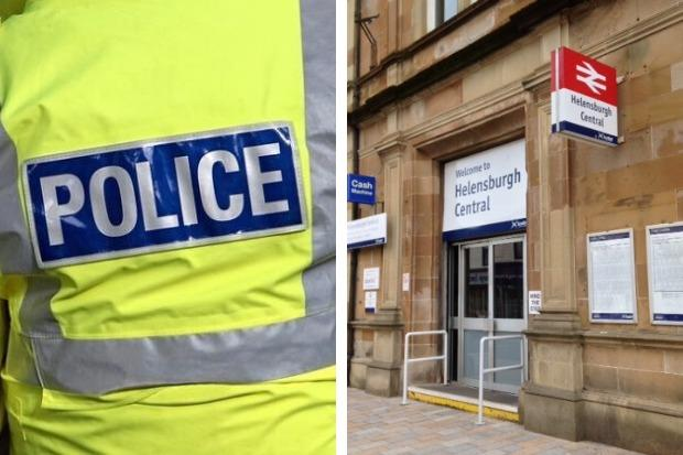 "Police are hunting for a teenage suspect after ""sexualised comments"" were allegedly made to two girls outside Helensburgh Central railway station"