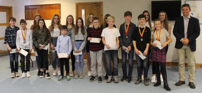 Helensburgh AAC's 2019 junior prize winners celebrated a year of achievement at their annual awards ceremony