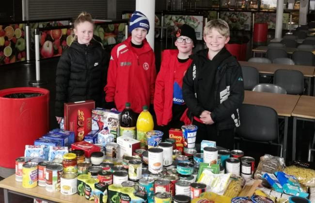 Ardencaple FC was one of many Helensburgh and Lomond community groups who backed a pre-Christmas donation drive for the area's food bank