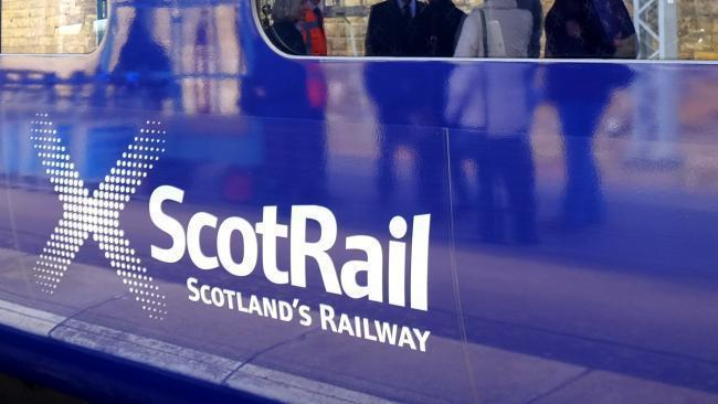 ScotRail services between Helensburgh and Edinburgh face delays after a vehicle struck crossing barriers in Cardross