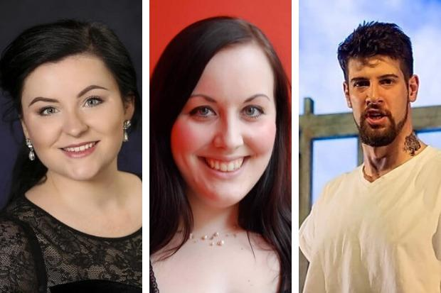 Charlie Drummond, Heather Ireson and Mark Nathan are all part of Scottish Opera's 'Emerging Artists' programme
