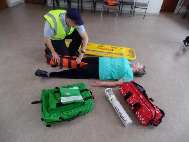 The Helensburgh First Aid group is looking for new members