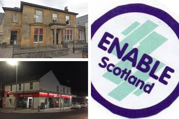 Enable Scotland's Helensburgh office will move from the current site of James Street in to the former Santander building on the corner of West Princes Street and Sinclair Street