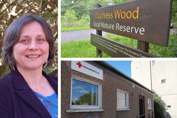 Helensburgh councillor Lorna Douglas's latest Advertiser column hails the reopening of the Duchess Wood and more steps towards the community's purchase of the town's Red Cross hall