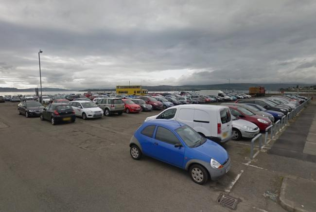 Coach parking at the southernmost section of Helensburgh's waterfront car park will cease when building work starts on the town's new leisure centre