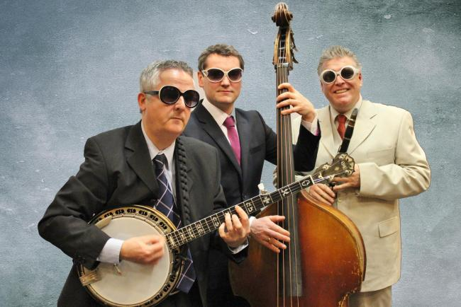 The Ugly Bug Ragtime Three provide the live entertainment at Helensburgh Music Society's concert on February 15