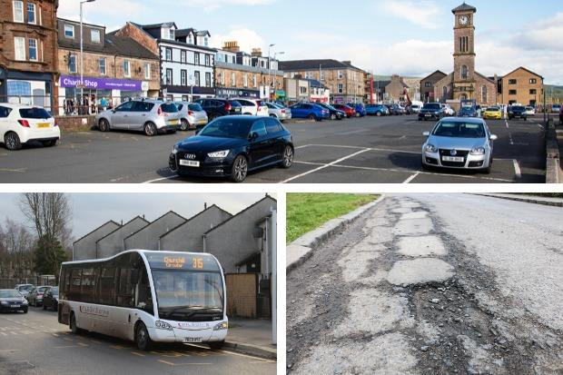 Car parking, roads and public transport are among Helensburgh and Lomond residents' top priorities according to the results of the 'How Good Is Your Place?' survey