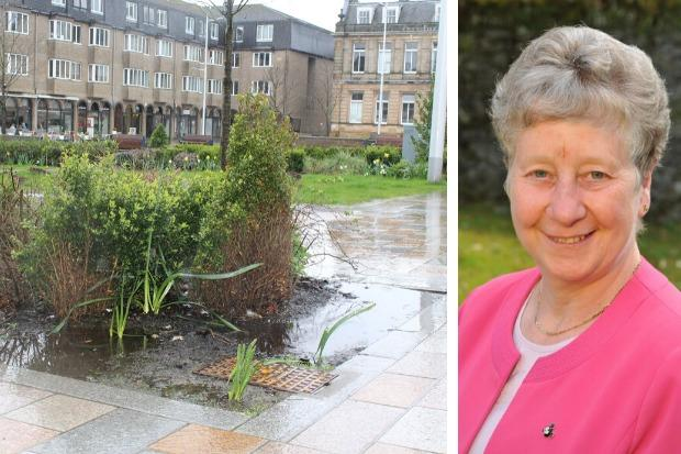Vivien Dance from the Helensburgh and Lomond Chamber of Commerce says the 'rain drain' is affecting local businesses