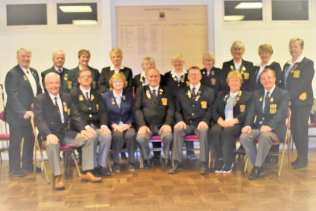 Helensburgh Bowling Club's office-bearers and committee members for the 2020 season, pictured following the club's recent AGM