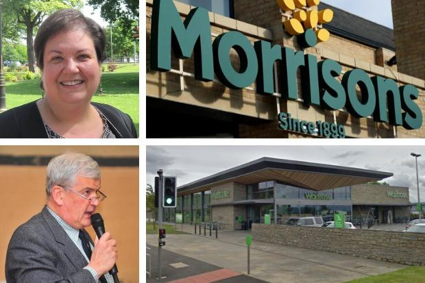MSPs Jackie Baillie and Maurice Corry both say they've been told Morrisons will be moving in to the supermarket site on Cardross Road in Helensburgh after Waitrose closes for the last time in early May