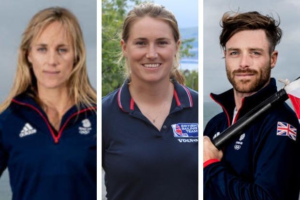 Charlotte Dobson, Anna Burnet and Luke Patience have eall been told they'll still be part of the Team GB sailing squad when this year's postponed Olympics in Tokyo are held in the summer of 2021
