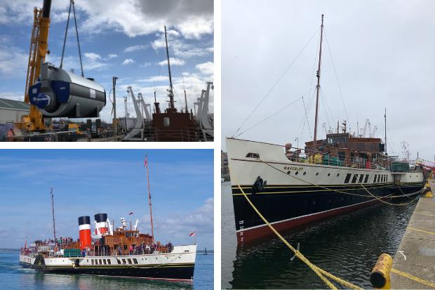 PS Waverley's operators say the famous ship will definitely sail again after the fitting of new boilers over the winter at a cost of £2 million - although if the coronavirus restrictions do permit a return to service in 2020, she won't visit Helensburgh