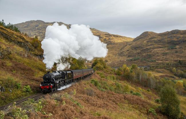 The Jacobite steam train (Photo - Dave Collier)