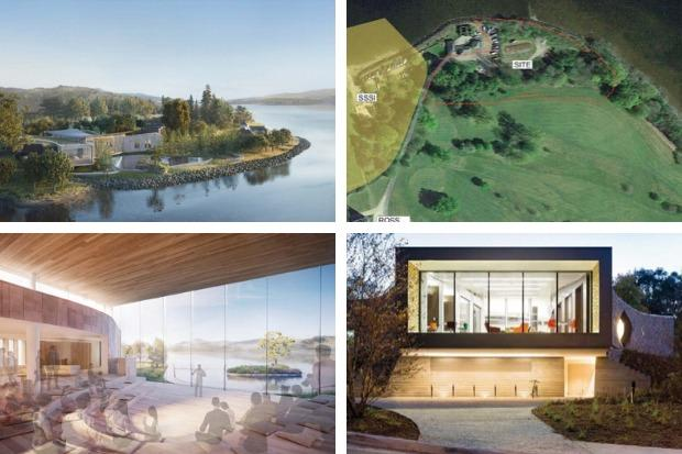 The Hunter Foundation wants to build a leadership training centre in the grounds of Ross Priory, overlooking Loch Lomond