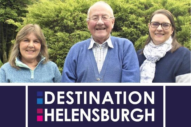 Fiona Baker, Michael Baker and Anne Foy are the trio behind the Destination Helensburgh initiative