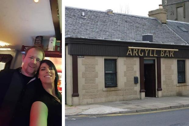 Stuart Izatt and Emma Campbell are moving on from the Argyll Bar in East Clyde Street after almost five years