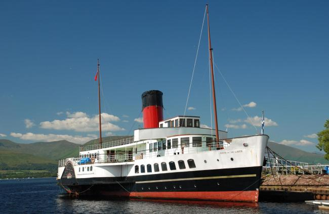 The Maid of the Loch reopened to visitors on August 20