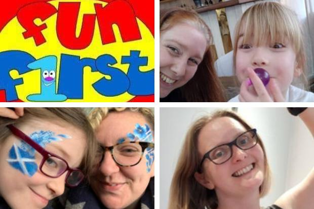 Fun First team members are taking part in the virtual Kiltwalk