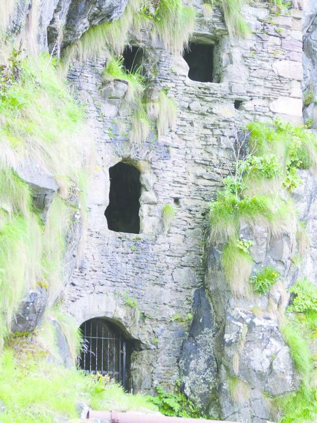 Helensburgh Advertiser: Caves at Culzean Castle. Picture: National Trust for Scotland