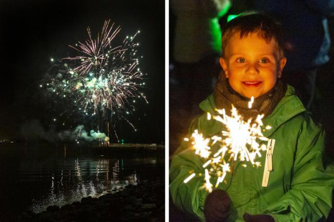 Helensburgh's annual bonfire and fireworks display has been cancelled this year