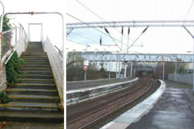 Plans have been lodged by Network Rail to repair four railway footbridges in Helensburgh, including this one in Grant Street