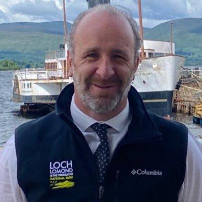 Gordon Watson, CEO of Loch Lomond and the Trossachs National Park Authority