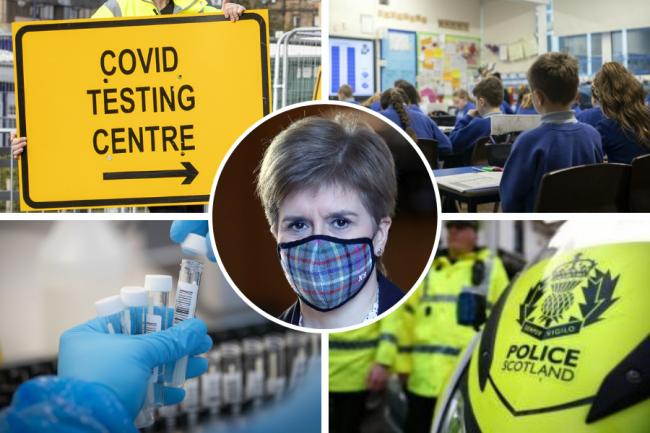 Every Scottish local authority's new lockdown level  — and what it means for you