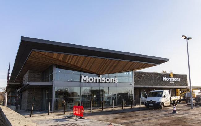 Helensburgh's new Morrisons supermarket, located at the site of the former Waitrose store in Cardross Road, will open in December